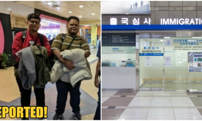 2 M'sian Men Goes On Dream Holiday To South Korea, Interrogated & Deported By Immigration - WORLD OF BUZZ