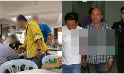 2 M'sian Smokers Arrested After Being Caught In The Act At Kajang Restaurant - WORLD OF BUZZ 3