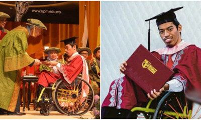 25yo Special Needs Man Was Made Fun Of When Younger, Grads With A Degree To Prove Them Wrong - WORLD OF BUZZ 3