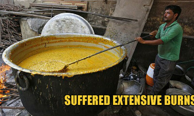 3yo Boy Trips Into Giant Pot of Boiling Curry & Dies After Sustaining Horrific Burns On His Body - WORLD OF BUZZ