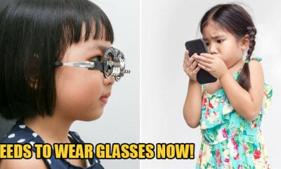 3yo Girl Is Now Short-Sighted As She Was Always Watching Cartoons On Mobile Phone - WORLD OF BUZZ 2