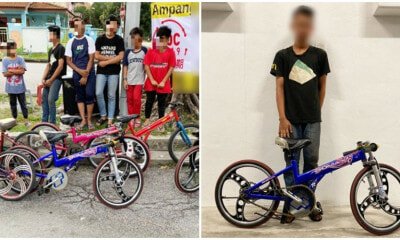 6 Ampang Parents Have Already Been Arrested For Allowing Their Kids To Ride Basikal Lajak - WORLD OF BUZZ
