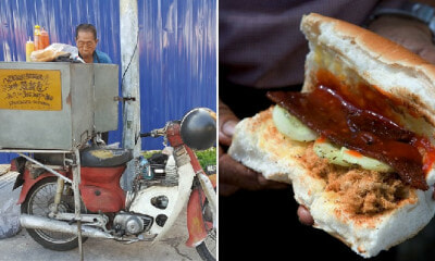 80yo M'sian Uncle Has No Family, Sells RM3 Sandwiches At Pudu So He Can Survive - WORLD OF BUZZ 6