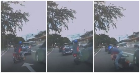 Watch: Motorcyclist Fakes - WORLD OF BUZZ