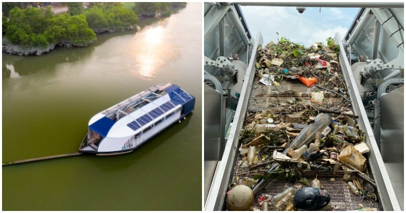 The Ocean Cleanup Interceptor 002 Was Spotted in the Klang River {i - WORLD OF BUZZ