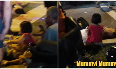Little Girl Cries Out To Her Dead Mother After Range Rover Ran Them Over in Subang - WORLD OF BUZZ