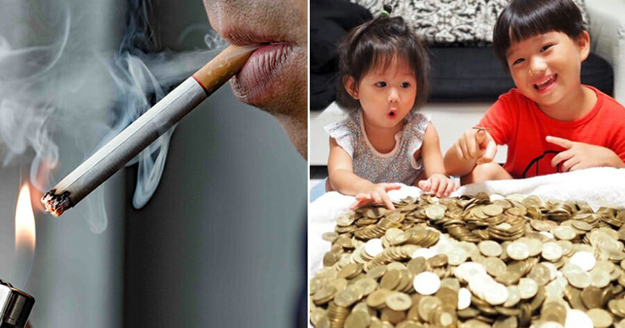 37yo Man Fined Himself RM13 Every Time He Thought About Smoking, Saves RM24,000 After 4 Years - WORLD OF BUZZ