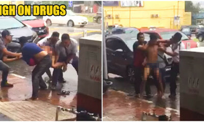 Video: Terengganu Guy In Underwear Put Up - WORLD OF BUZZ