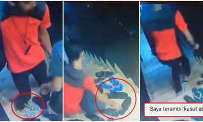 Caught red handed! This is how your shoes are stolen - WORLD OF BUZZ 5