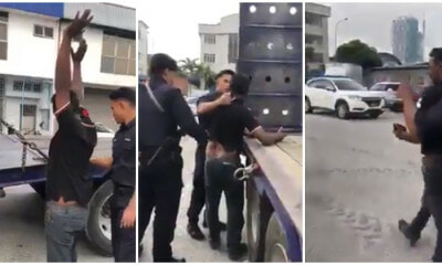 Drunk Truck Driver Gets Arrested For Getting In An Accident And Threatens To Rape Lady Victim - WORLD OF BUZZ 2