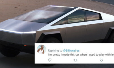 Elon Musk Unveils New Electric Truck And The Internet Is Having A Good Laugh At It - WORLD OF BUZZ 3