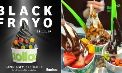 Llaollao Introduces New Charcoal Flavour On 29 November For Black Friday - WORLD OF BUZZ