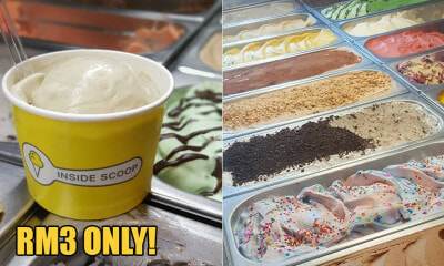 From 21 Nov - 1 Dec, You Can Get Ice Cream For RM3 At These Inside Scoop Locations - WORLD OF BUZZ
