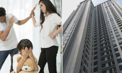11yo Girl Jumps Out of 39th Floor After Crying Whole Night As Her Parents' Constant Fights Upset Her - WORLD OF BUZZ