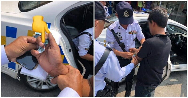 Foreign Driver With No Licence Arrested When He Tried To Bribe Honest Policemen - WORLD OF BUZZ