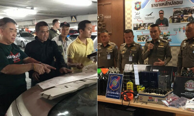 "63yo M'sian ""King of Fake Liquor"" Caught Red-Handed In Bangkok After 30 Years In Business - WORLD OF BUZZ"