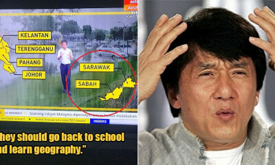 Netizens Asked Local News Channel To Balik Sekolah After They Labelled Sabah & Sarawak Wrongly On Map - WORLD OF BUZZ