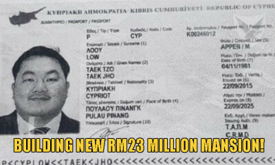 Fugitive Jho Low Now Has Cyprus Passport, Allegedly Building A RM23 Million Euro Mansion There - WORLD OF BUZZ