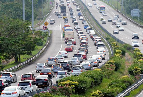 Gombak Toll Proposed To Be Abolished Due To Traffic Congestion During Festive Holidays - WORLD OF BUZZ 1