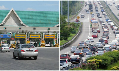 Gombak Toll Proposed To Be Abolished Due To Traffic Congestion During Festive Holidays - WORLD OF BUZZ 4