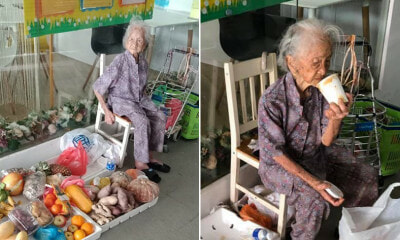 This 97yo Grandma Sells Fruits on Her Own to Earn a Living Even Though She Has a Bad Memory - WORLD OF BUZZ
