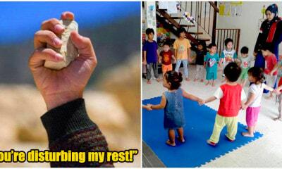Indo man annoyed at singing kids threw rock at kindergarten - WORLD OF BUZZ