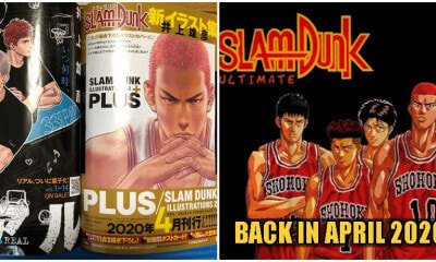It's Finally Happening! Cult Classic Basketball Manga Slam Dunk Will Be Back In April 2020! - WORLD OF BUZZ