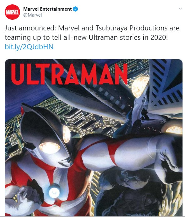 It's Official: Japanese Superhero Ultraman Will Be Joining The Marvel Family In 2020! - World Of Buzz 1