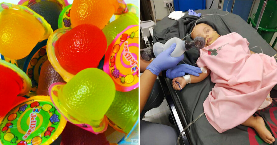 1yo Boy Who Choked on Jelly Went Into Coma & Had Organ Failure, Dies 2 Days Later - WORLD OF BUZZ