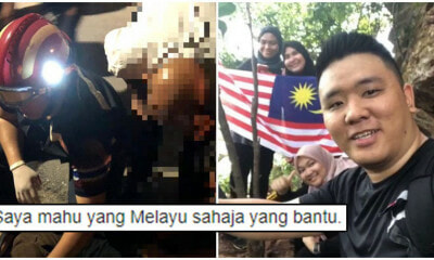 Kedah Volunteer Told To Stop Assisting Malay Accident Victim Because He's Not Malay - WORLD OF BUZZ