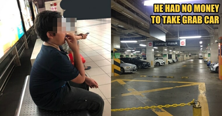 Kind Lady Helps a 13yo Boy to Pay for Grab and Food, Netizens Suspect that She's Scammed - WORLD OF BUZZ 2