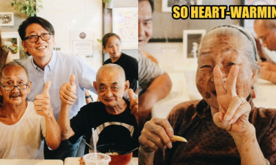 Kind S'pore Man Celebrates His Birthday By Treating 36 Elderly Cardboard Collectors to a Meal - WORLD OF BUZZ 4