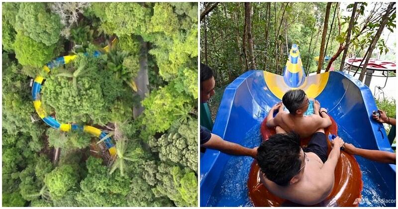 Longest Water Slide In The World Opens In Penang, Netizen Shares First-hand Experience Riding It! - WORLD OF BUZZ 4