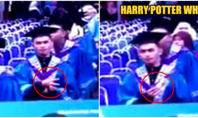 Magician Did Magic Trick To Live Camera, Adding Swag To His Graduation Ceremony - WORLD OF BUZZ