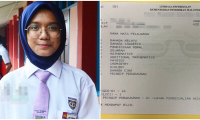 Malay Student Aims for Perfect Streak in Chinese SPM Paper After Getting A's For Both PT3 & UPSR - WORLD OF BUZZ 3