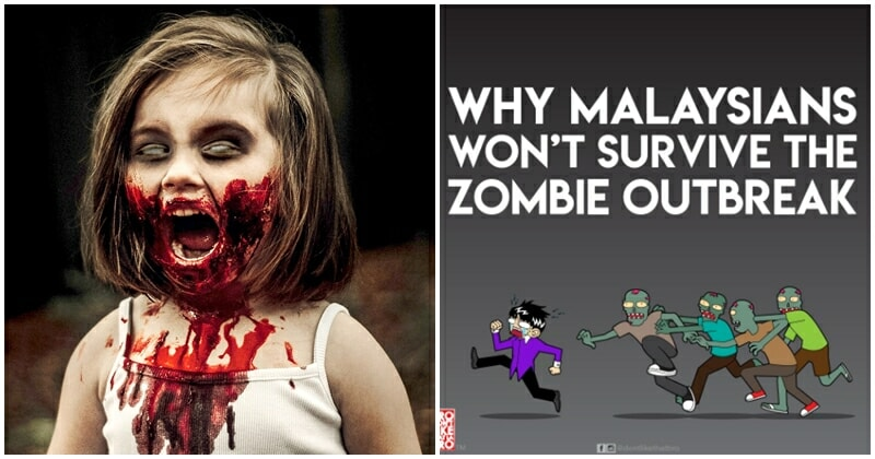 Malaysia Is Not Prepared For A Zombie Apocalypse, Netizen Illustrates How Unprepared We Are In Hilarious Comic - World Of Buzz 8
