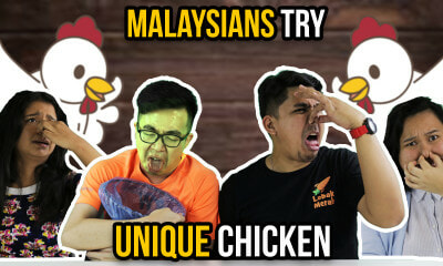 Malaysians Try Unique Chicken - WORLD OF BUZZ