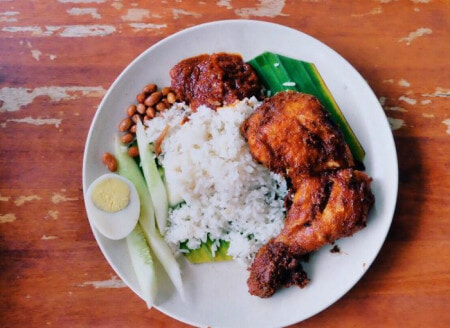 Man Casually Travels 9,600KM Because He Was Craving His Favourite Nasi Lemak Ayam - WORLD OF BUZZ 1