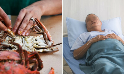 Man Eats Leftover Seafood That He Kept Overnight, Almost Dies From Deadly Infection - WORLD OF BUZZ 2