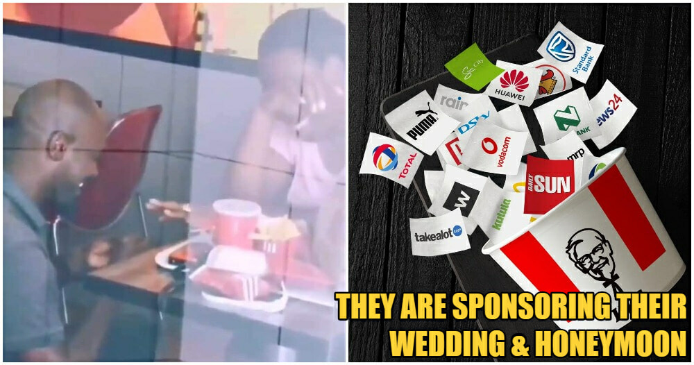 Man Proposes To GF In KFC, Journalist Calls Him Cheapskate, Big Companies Have His Back - WORLD OF BUZZ