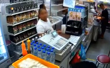 Man Stealing Unsuspecting Shop owner's Phone Gets Caught On Camera - WORLD OF BUZZ