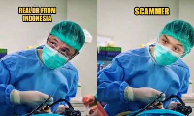 Man Stole an Indonesian Doctor's Photos and - WORLD OF BUZZ
