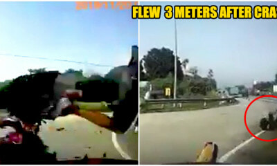 Motorcyclist get what he asked for after running a red light - WORLD OF BUZZ 7