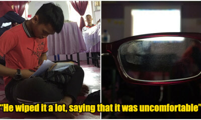 M'sian Boy Raised RM1,700 From Twitter So That His Best Friend Could Answer SPM With A New Pair Of Glasses - WORLD OF BUZZ 1