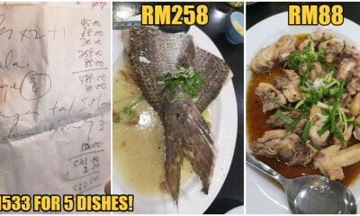 M'sian Family of Six Goes Out For Normal Dinner, Restaurant Charges Them RM533 - WORLD OF BUZZ 6