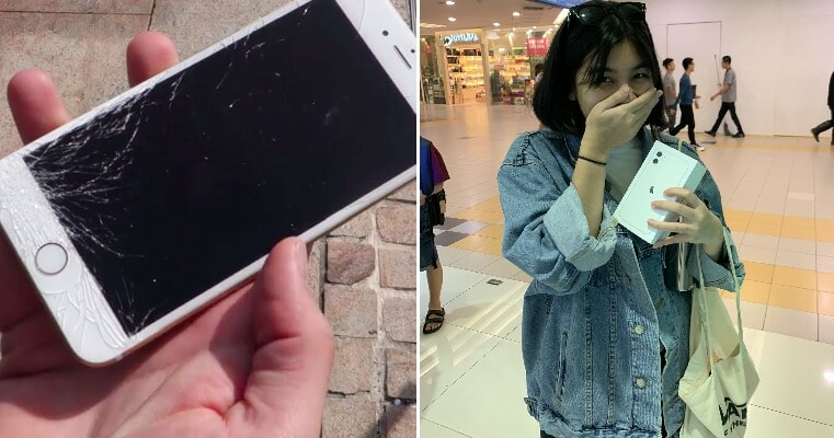 M'sian Girl Receives New iPhone 11 From Guy Best Friend After Her Old Phone Screen Cracks - WORLD OF BUZZ 3