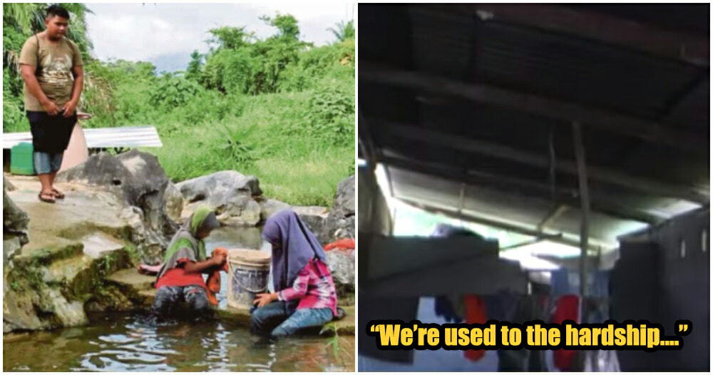 M'sian Kids Live In Extreme Poverty After Death Of Parents, Use Drain Water For Cooking - WORLD OF BUZZ