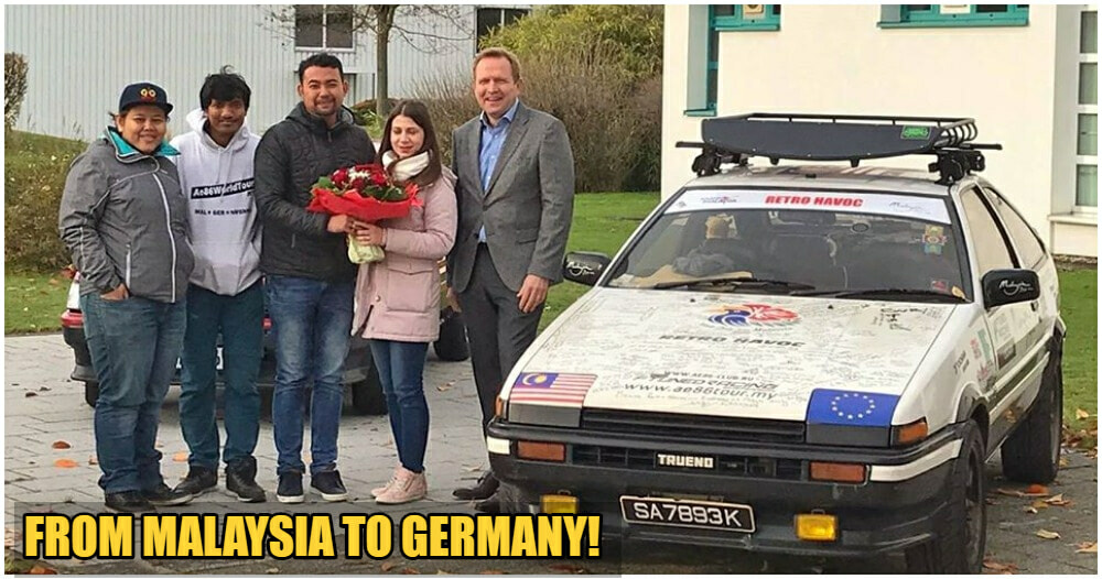 M'sian Man Who Drove 25,000KM To Germany Is Finally Reunited With His GF! - WORLD OF BUZZ