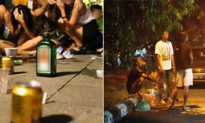 No Laws Against Drinking Alcohol in M'sian Public Spaces But Strict Action Taken If You Are a Nuisance - WORLD OF BUZZ 2