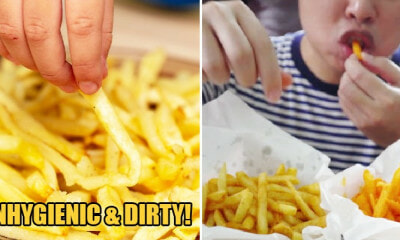 """No Wonder He's Still Single,"" Disgusted Girl Says After Otaku Uses Bare Hands to Eat Fries - WORLD OF BUZZ 3"